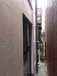 リビング窓の面格子取付工事 施工前