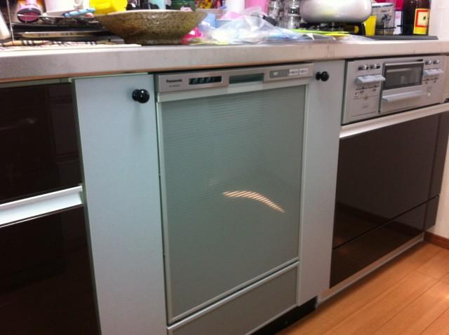 愛知県名古屋市名東区 パナソニック ビルトイン食器洗い機取替工事 【アンシンサービス24】