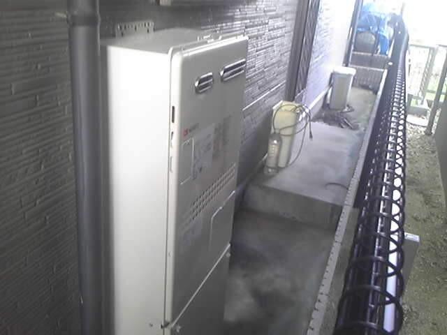 清須市 給湯器 キッチン水栓 交換工事