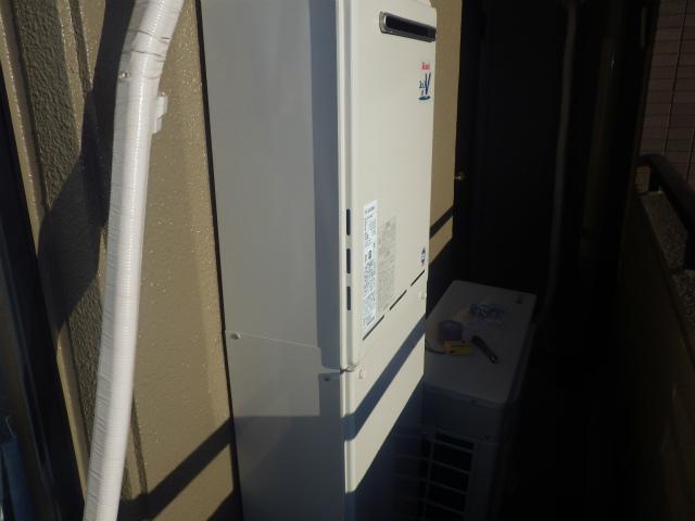 岩倉市 給湯器取替工事・浴室用シャワー水栓取替工事