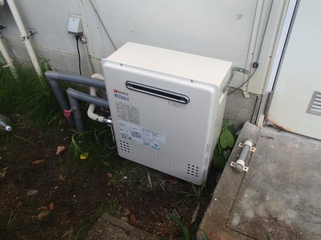 瀬戸市 ノーリツ ガス給湯器取替工事