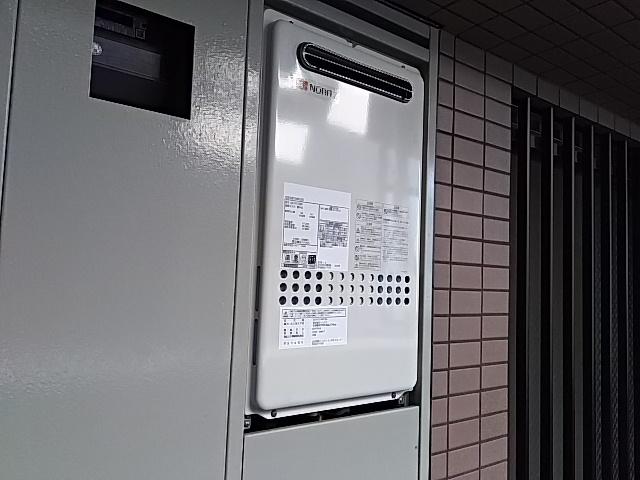 神奈川県川崎市幸区 ノーリツ 高温差し湯給湯器交換工事店 GQ-2427AWX-DXBL 高温差し湯給湯器施工事例