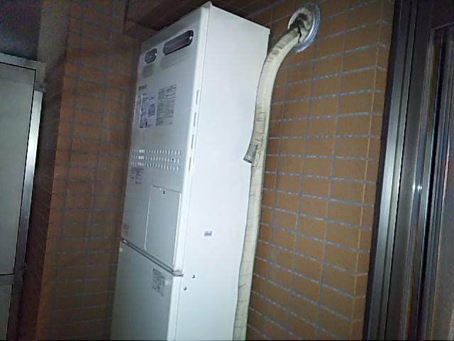 横浜市南区 ノーリツ 追い焚きのできなくなった熱源給湯器をガス給湯器に取替 ガス給湯器取替工事店 GTH-2444SAWX3H-1BL ガス給湯器施工事例
