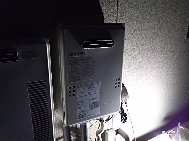 愛知県豊田市昭和町 ノーリツ ガス給湯器工事店 給湯専用16号 GQ-1639WS ガス給湯器施工事例