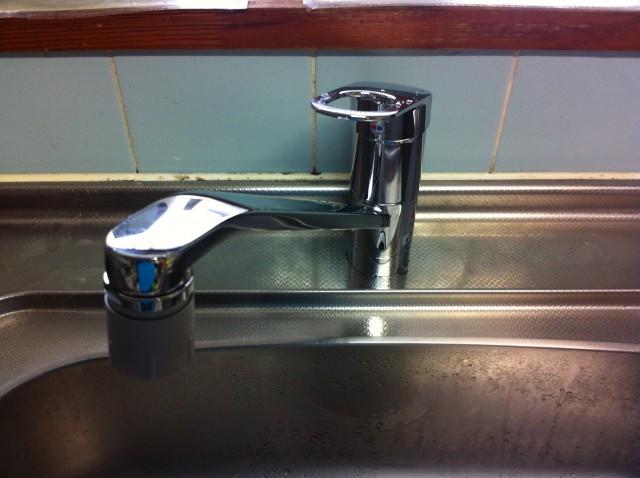 キッチン・洗面水栓取替工事 名古屋市中村区