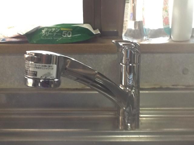キッチン水栓取替工事 名古屋市天白区