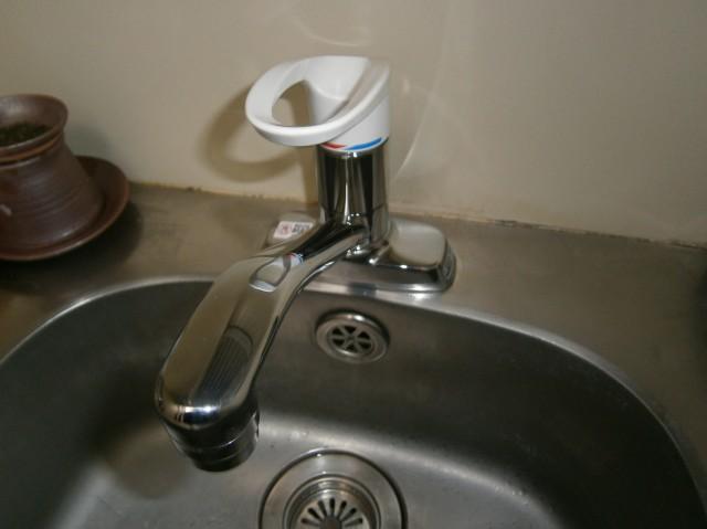 キッチン水栓取替工事 名古屋市東区