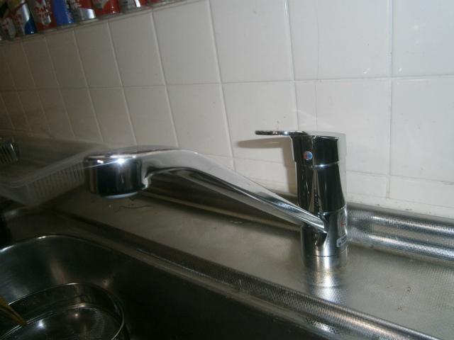 名古屋市南区 キッチン水栓取替工事 1階キッチン