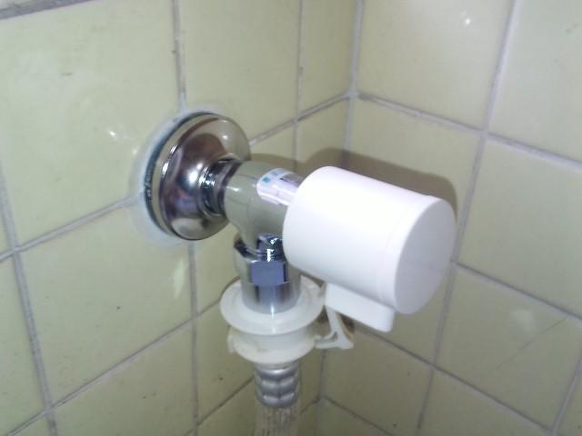 名古屋市守山区 洗濯機水栓取替工事 KVK