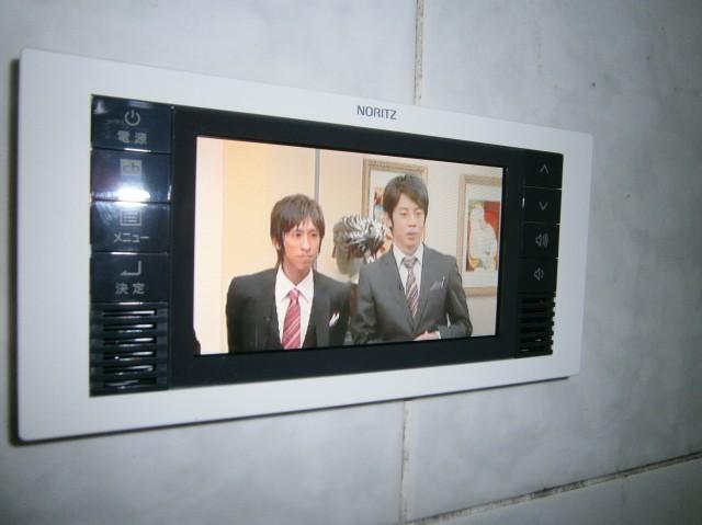 愛知県名古屋市西区 ノーリツ ワンセグ浴室テレビ工事 【アンシンサービス24】