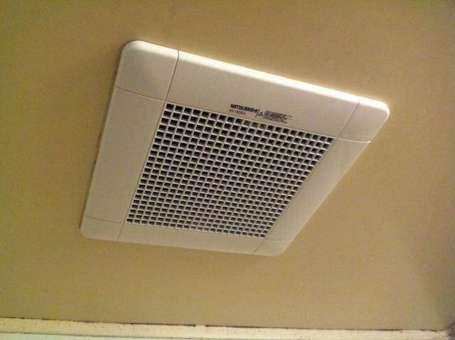 愛知県名古屋市緑区 浴室リフォーム 三菱電機 浴室換気扇取替工事 【アンシンサービス24】