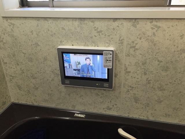 愛知県岡崎市 ツインバード 浴室テレビ取替工事 【アンシンサービス24】