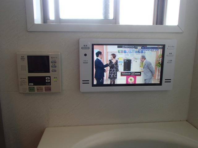 愛知県名古屋市中区 浴室テレビ取替工事 ツインバード 【アンシンサービス24】