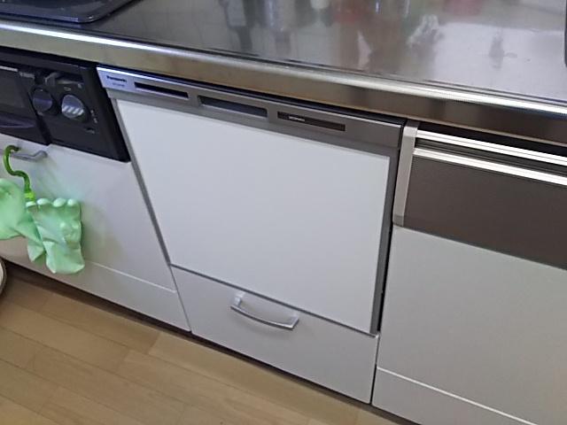 神奈川県横浜市金沢区 キッチンリフォーム パナソニック ビルドイン食洗機取替工事