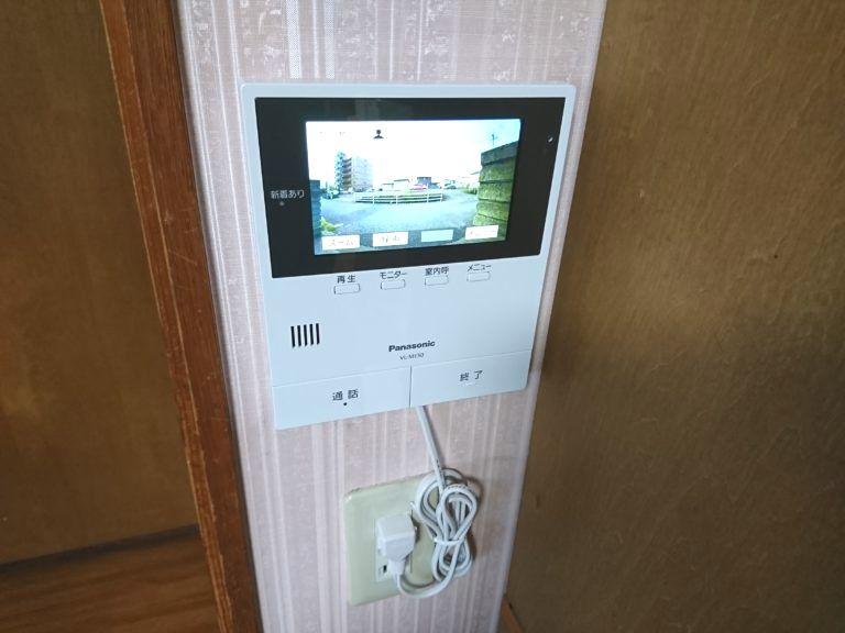 三重県四日市市 テレビドアホン取付工事 パナソニックVL-SE50KF