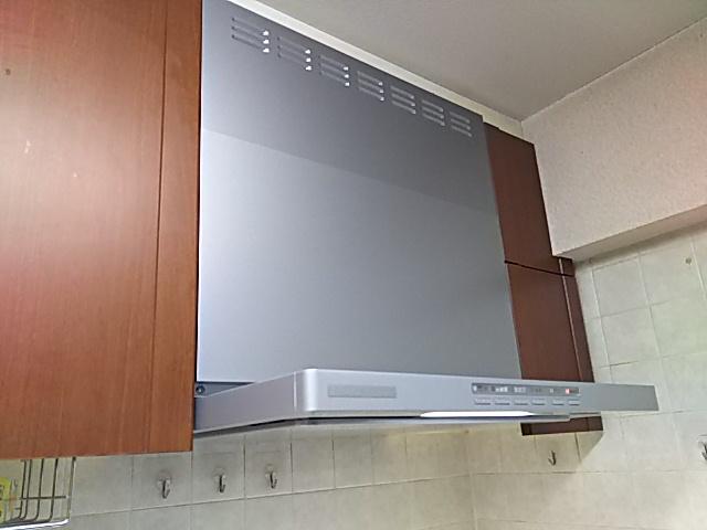 東京都板橋区 レンジフード交換工事 リンナイOGR-REC-AP601LSV