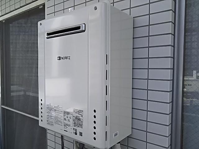 東京都新宿区 ガス給湯器交換工事 ノーリツSRT-2460SAWX-1BL