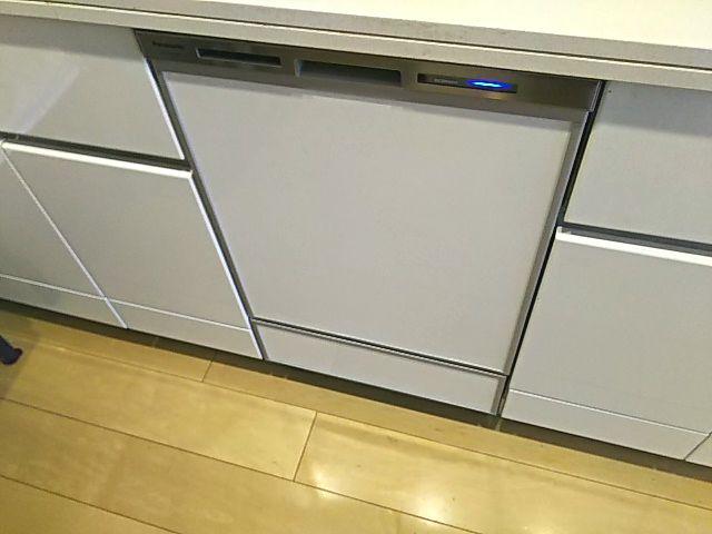 東京都葛飾区 食洗機交換工事 パナソニックNP-45MD8S