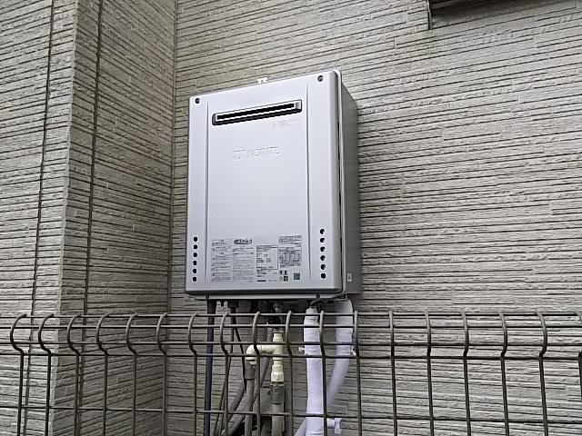 埼玉県入間市ガス給湯器交換工事ノーリツGT-C2462SAWX BL
