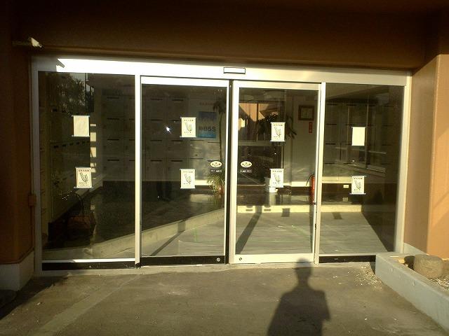 大府市 ホンダトーヨー 両開きドアから自動ドアに取替 2010/10/05