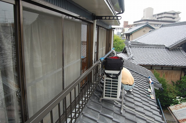 大府市 LIXIL 窓手すり取付工事 2013/07/01