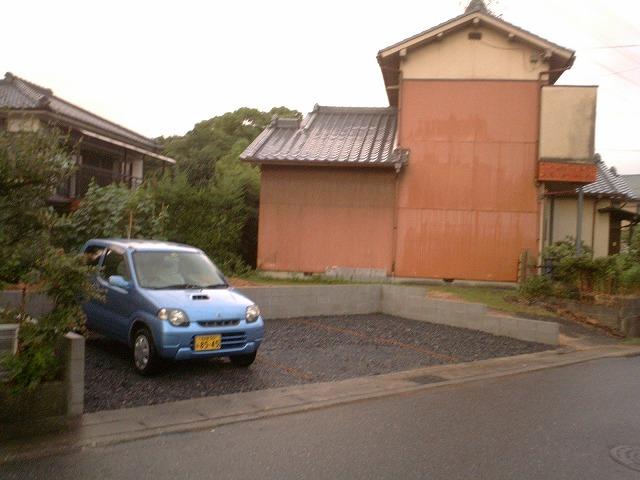 大府市 ホンダトーヨー 駐車場づくり 2010/07/10