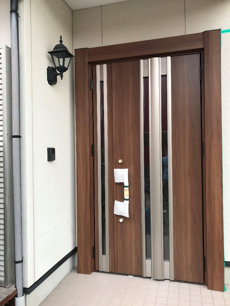 大府市 LIXILリシェント玄関ドア3 取付工事 2019/12/09