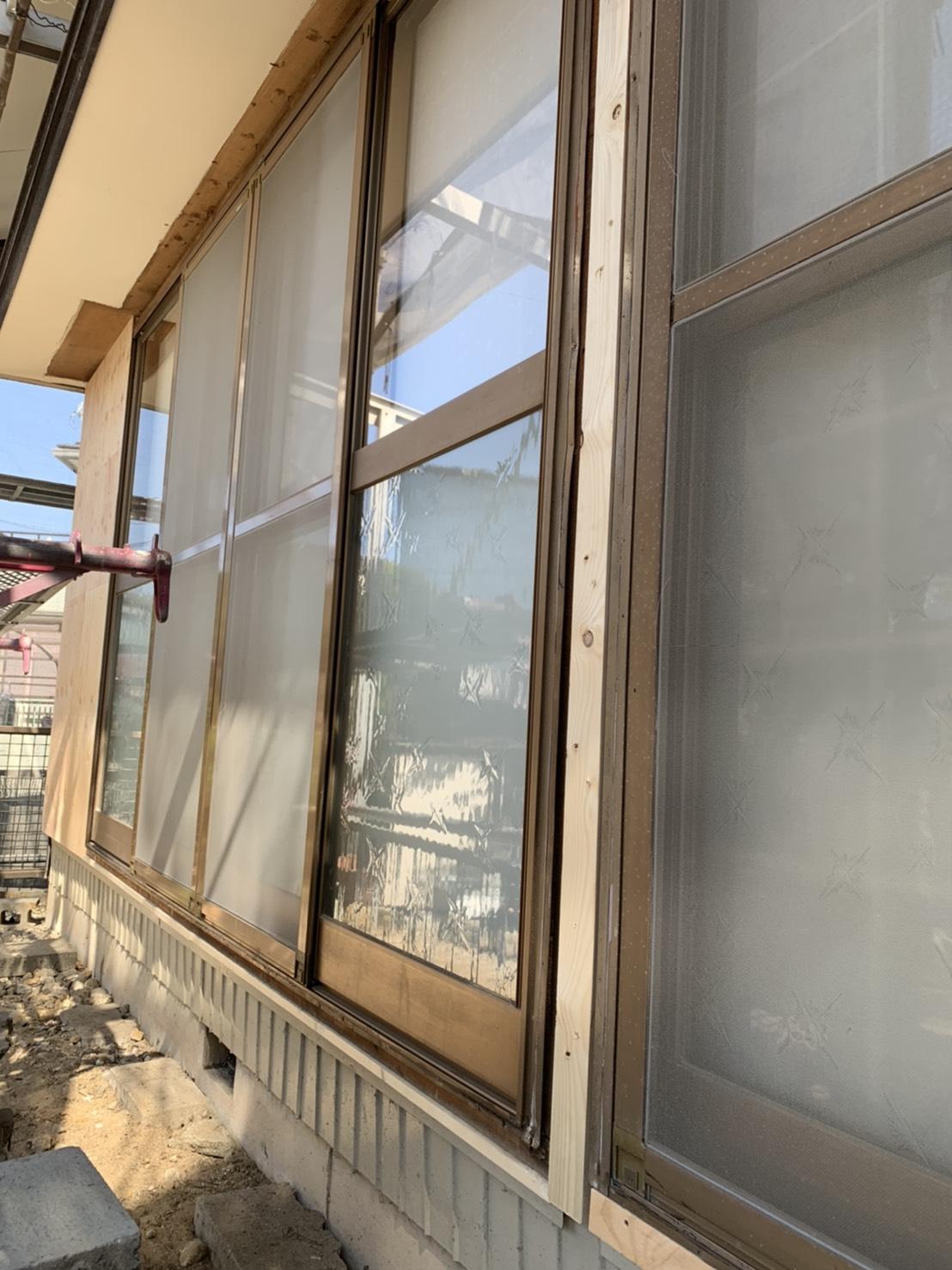 愛知県豊明市 LIXILサッシ工事店 一筋雨戸 2020/04/10