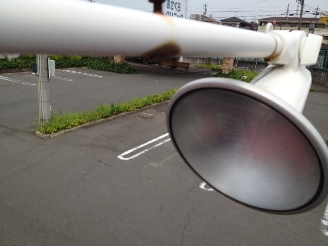 名古屋市西区 看板灯ランプ取替工事