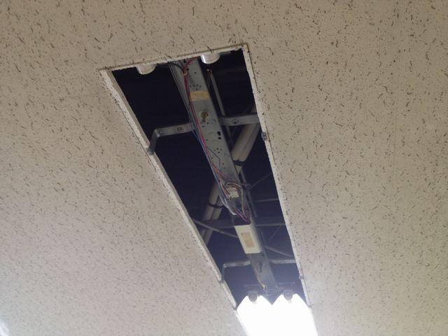名古屋市中区 安定器取替工事