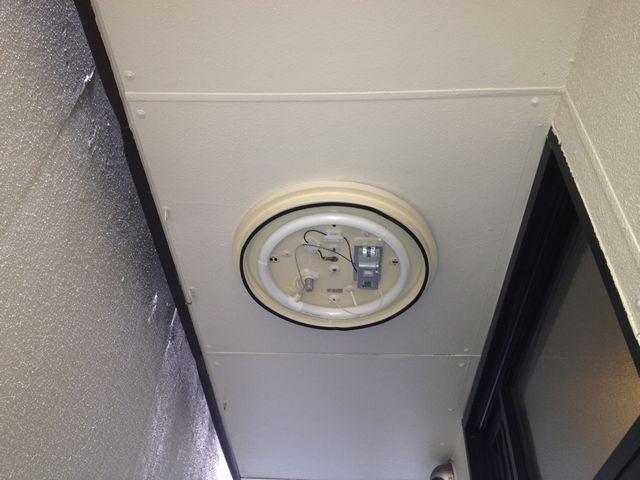 名古屋市中区 照明器具取替工事
