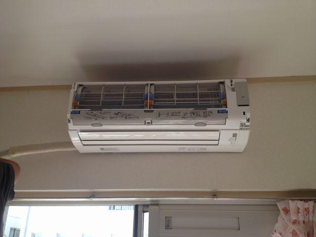 名古屋市北区 エアコン取付工事