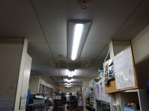 愛知県一宮市 照明器具切り替えの電気工事