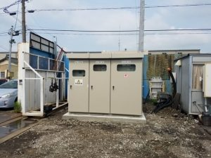 愛知県飛島村 キュービクル新設 電気工事