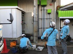 愛知県津島市 高圧設備の更新電気工事