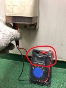 名古屋市中区の飲食店にて防水コンセントの不具合調査