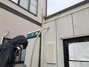 名古屋市中川区 仮設電源引込口配線の電気工事