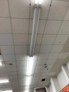 名古屋市中川区 照明器具の安定器取替電気工事