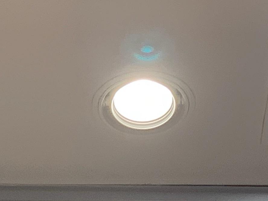 名古屋市緑区 ダウンライト取替電気工事 商業施設内