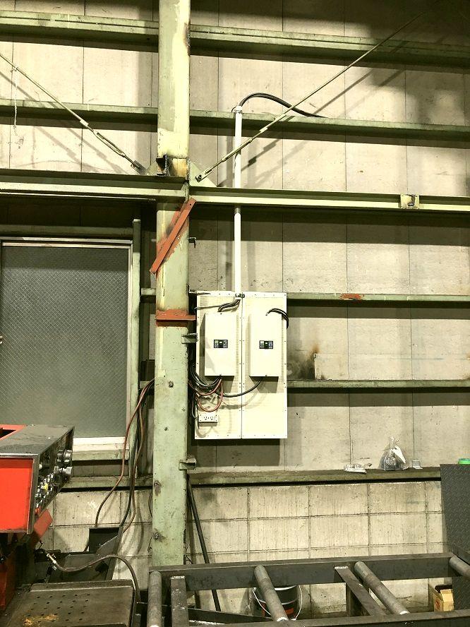 名古屋市港区 ケースブレーカ(手元開閉器)移設の電気工事