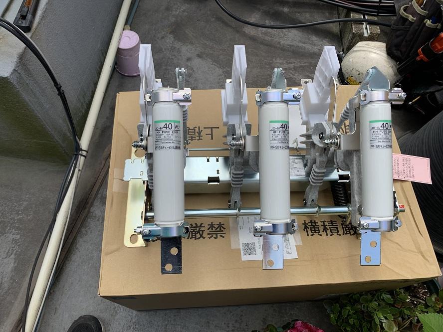 愛知県みよし市 キュービクル設備更新の電気工事