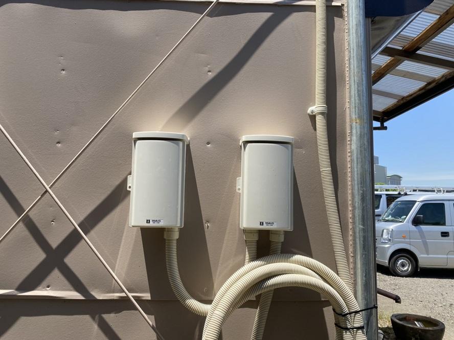 名古屋市港区動力電源導入の配線引込電気工事