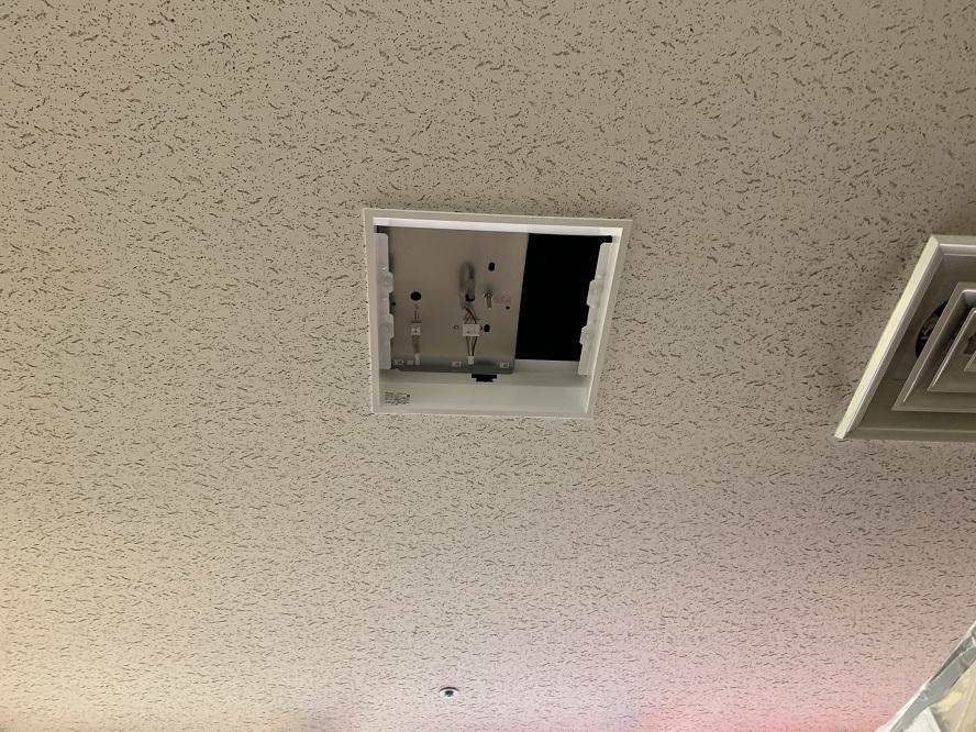 名古屋市中区 店舗の照明器具取替の電気工事