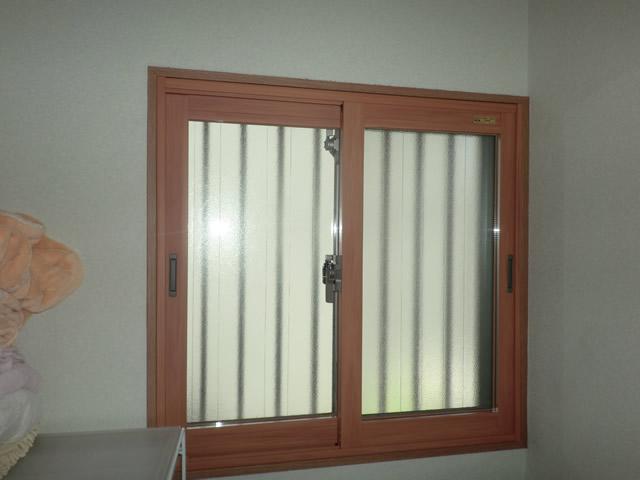 洗面所窓にも二重窓インプラス 断熱対策 ヒートショック対策 名古屋市