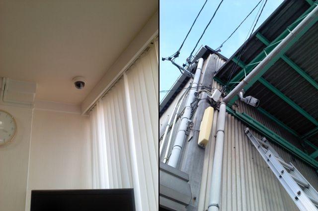 防犯カメラ・遠隔監視カメラセキュリティシステム 名古屋市