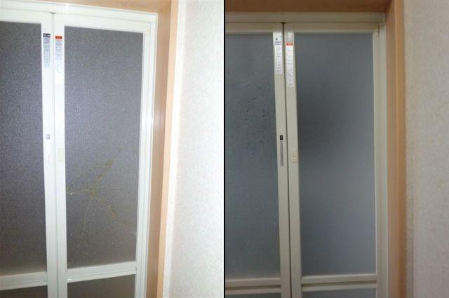 愛知県名古屋市緑区浴室ドアパネル交換工事【サッシ.NET】