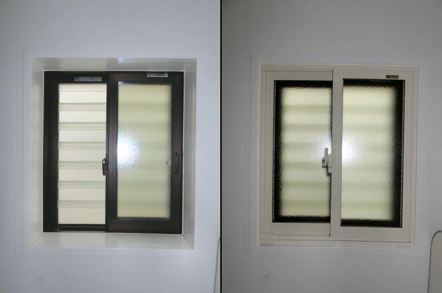 愛知県大府市断熱予防浴室二重窓内窓インプラスLIXIL【サッシ.NET】