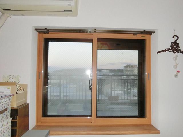 窓の結露対策 リクシル内窓インプラス<2> 名古屋市天白区