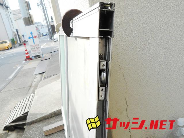 愛知県名古屋市熱田区戸車取替工事【サッシ.NET】