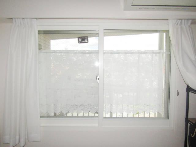 名古屋市瑞穂区 内窓プラスト、真空ガラス「スペーシア静」取付工事